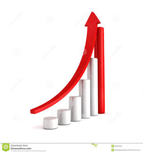 red-bar-chart-business-growth-rising-up-arrow-sccess-concept-d-render-illustration-39643030