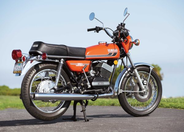 Yamaha RD350 Right Back View
