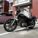 乗っているバイク Z400LTD